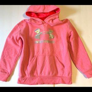 Under Armour Girls Sweatshirt size L